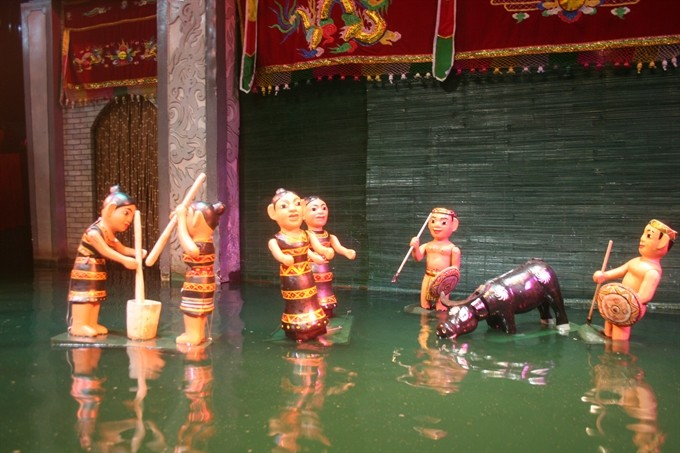Water puppet shows a must-see for tourists in Vietnam