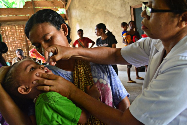 No new polio cases, but Indonesia still at risk