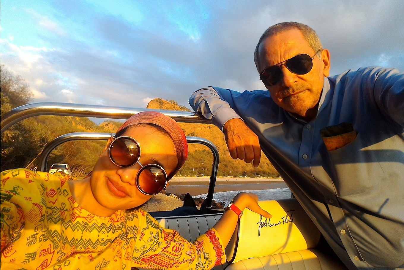 On the road with José Ramos-Horta