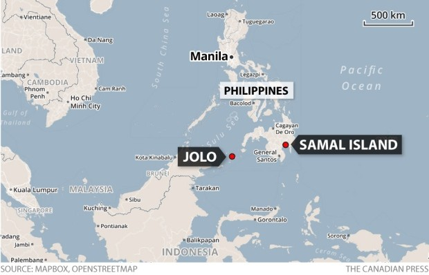Split up Indonesian hostages now united in Jolo