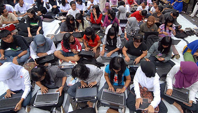 Tech giants train Indonesians to tap into latent potential
