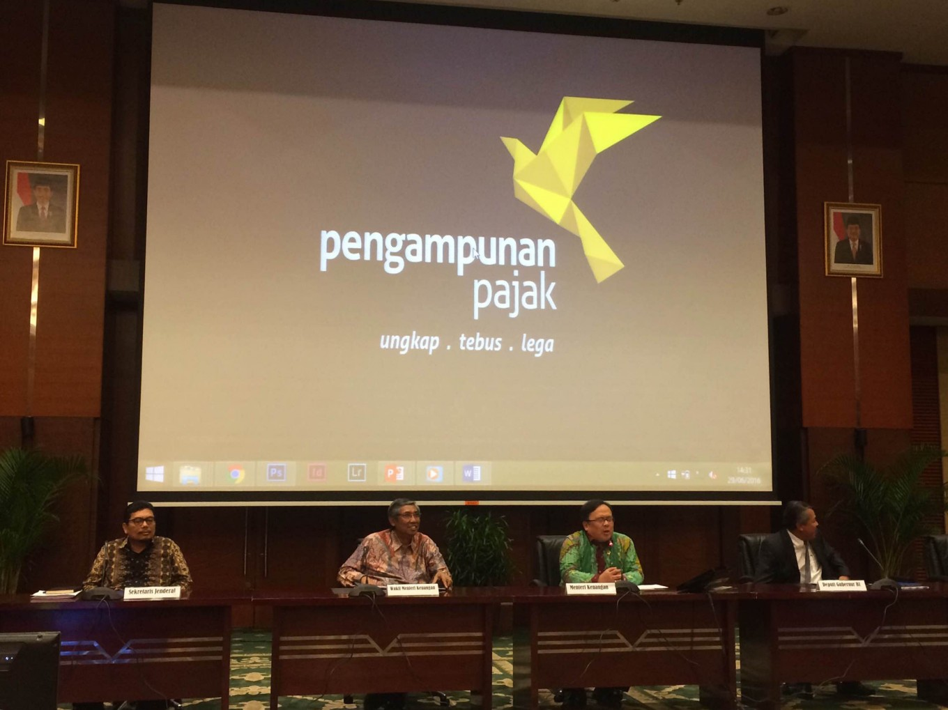 Govt Launches Campaign Logo For Tax Amnesty Business The Jakarta Post