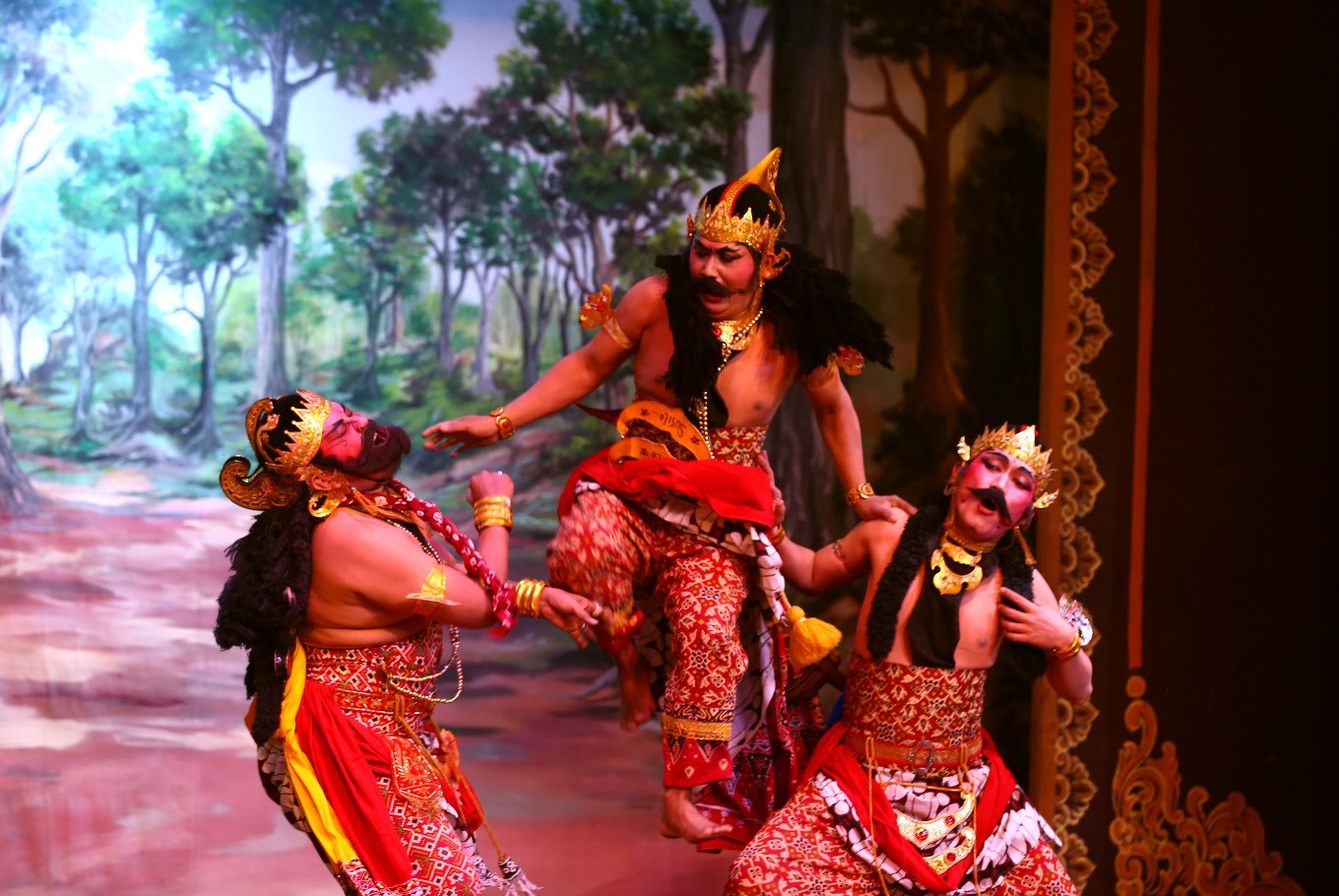wayang orang bharata strives to preserve traditional culture art