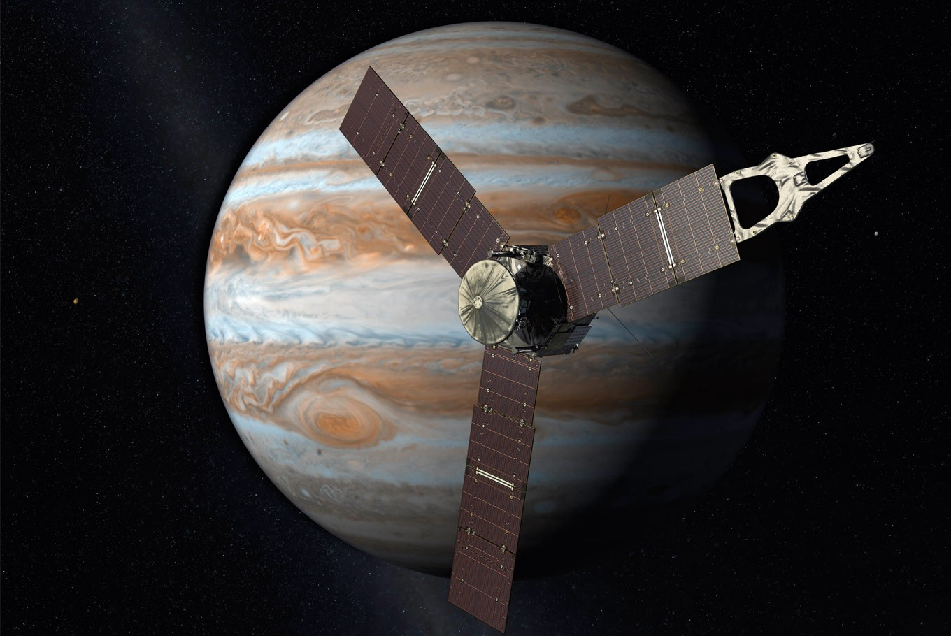 3-2-1: A look at NASA's Jupiter mission by the numbers