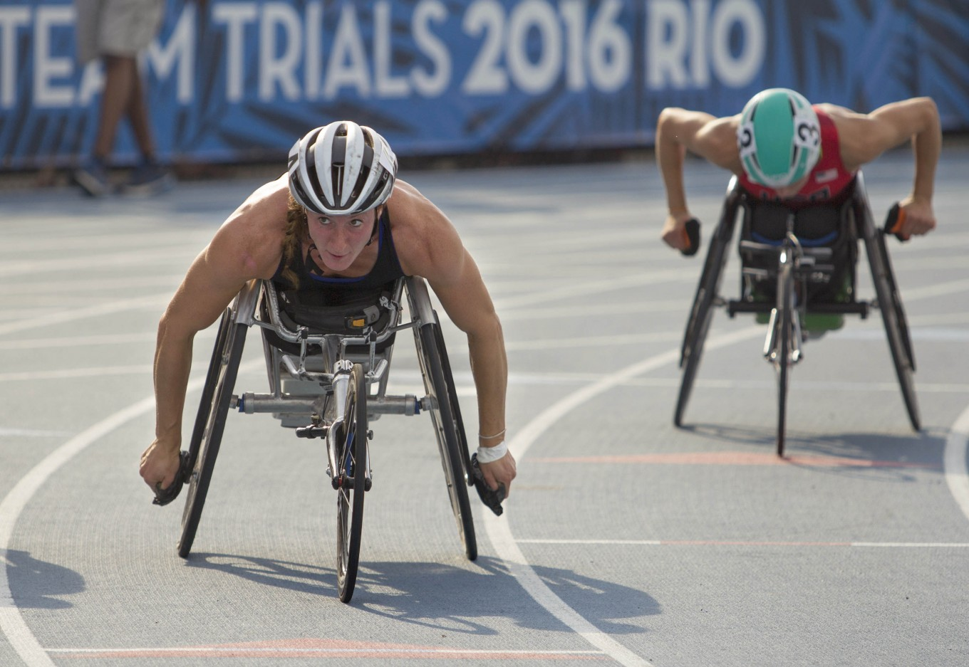 Photo Paralympic Trials The Jakarta Post