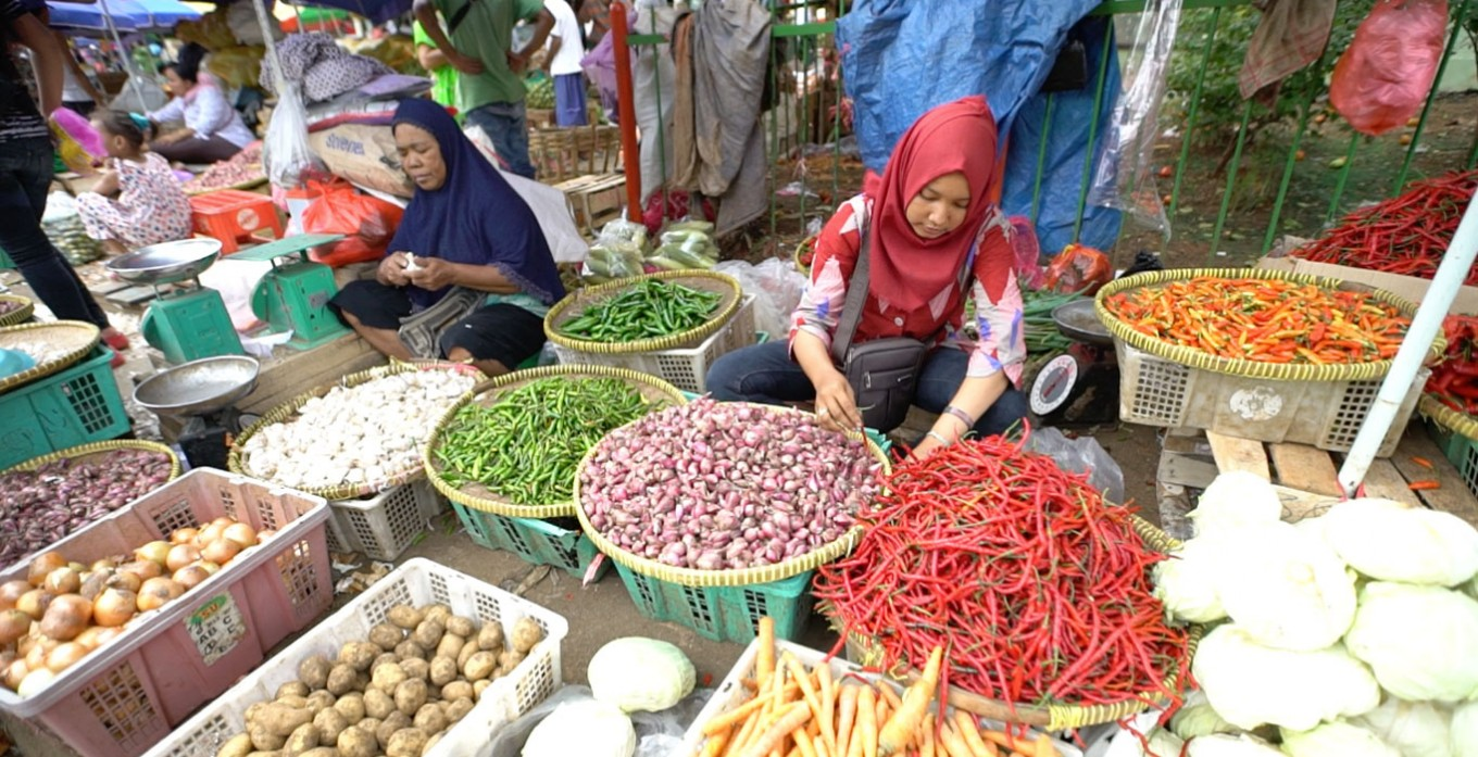 Food prices begin to rise prior to Idul Fitri
