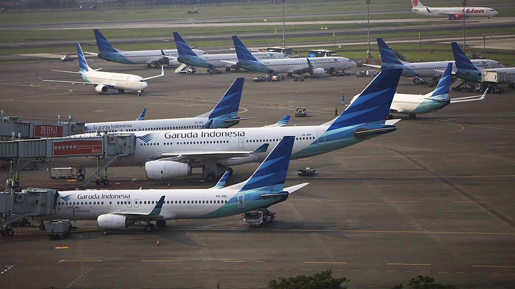 Garuda dubbed world's most loved airline