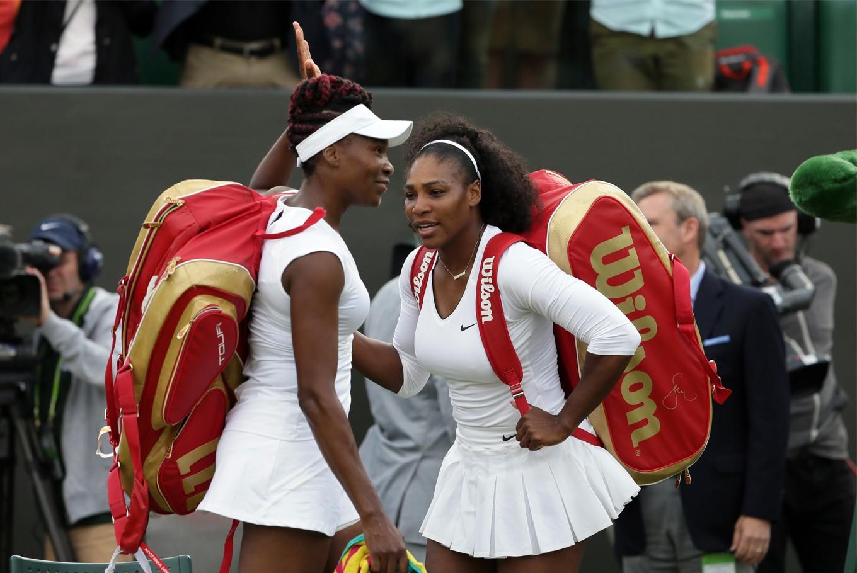 Venus and Serena back in Wimbledon quarterfinals