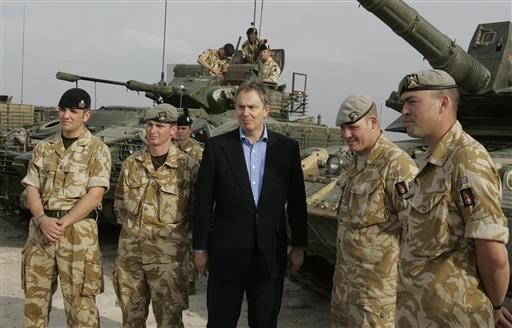 Britain, and Blair, await long-delayed Iraq War inquiry