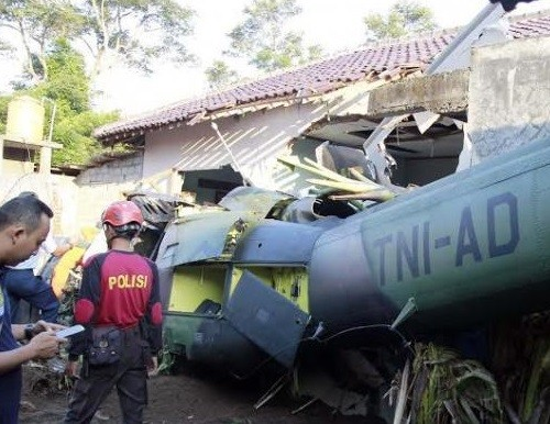 Army forms team to probe Yogyakarta chopper crash