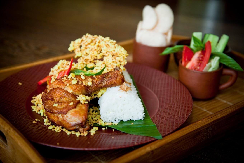 Try this 'Ayam Goreng Kremes' recipe at home