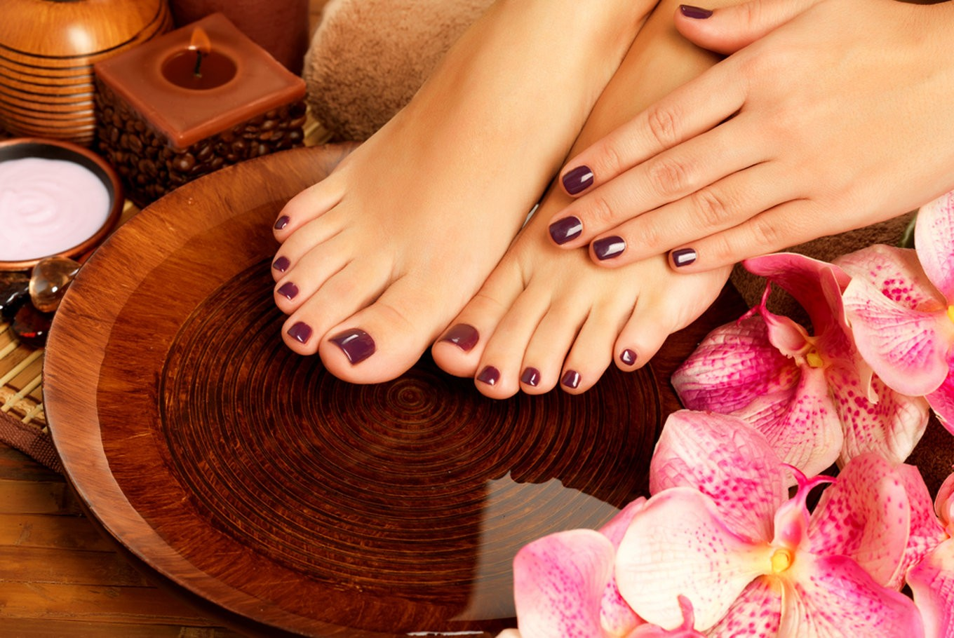 Image result for manicure and pedicure