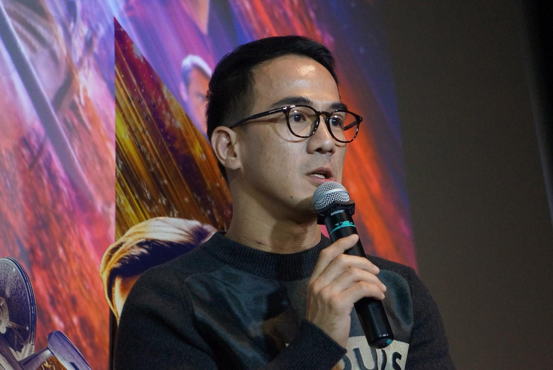 Joe Taslim updates fans on South Korean film progress