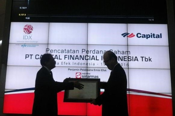 Capital Indonesia's shareholders see 69% gain in trading debut