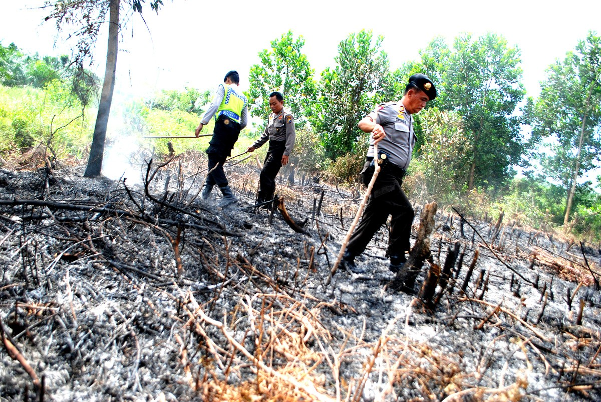 More hot spots found in Riau ahead of Asian Games