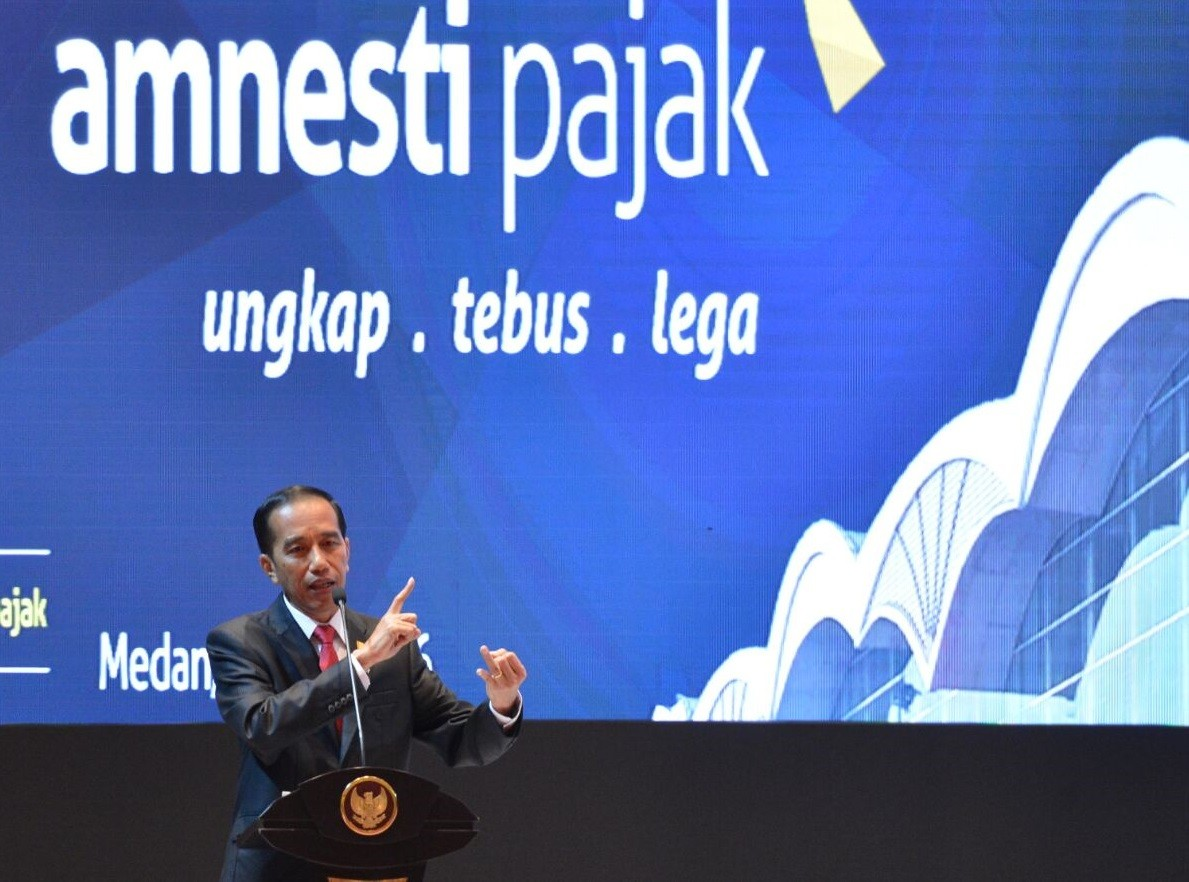 Jokowi leads second-day promotion of tax amnesty program