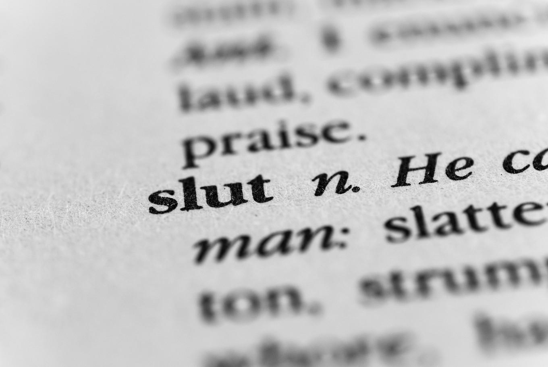 The Word Slut Then