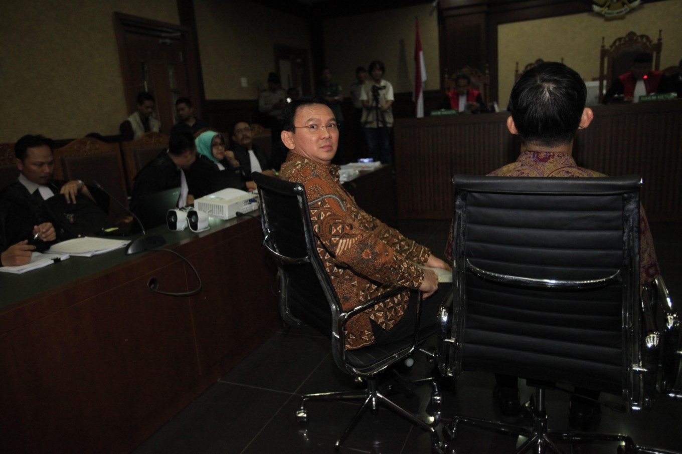 Ahok feels he is often cornered by his subordinates