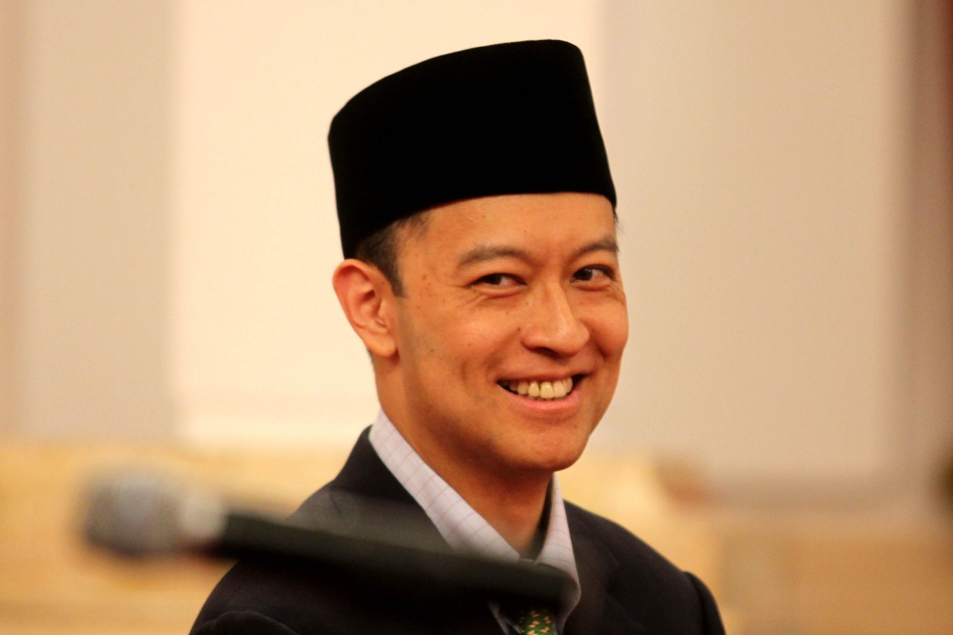 Tom Lembong excited by new job at BKPM