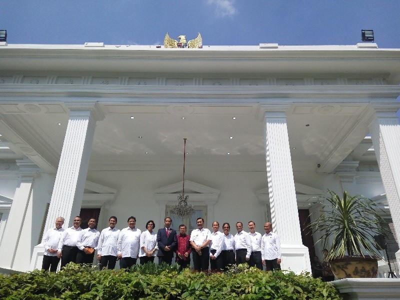 Jokowi's new Cabinet announced