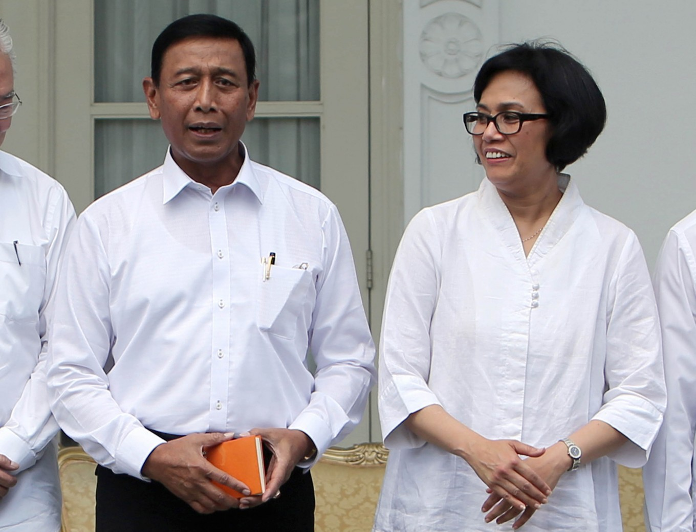 Wiranto replaces Luhut as security minister