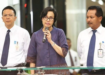Sri Mulyani returns