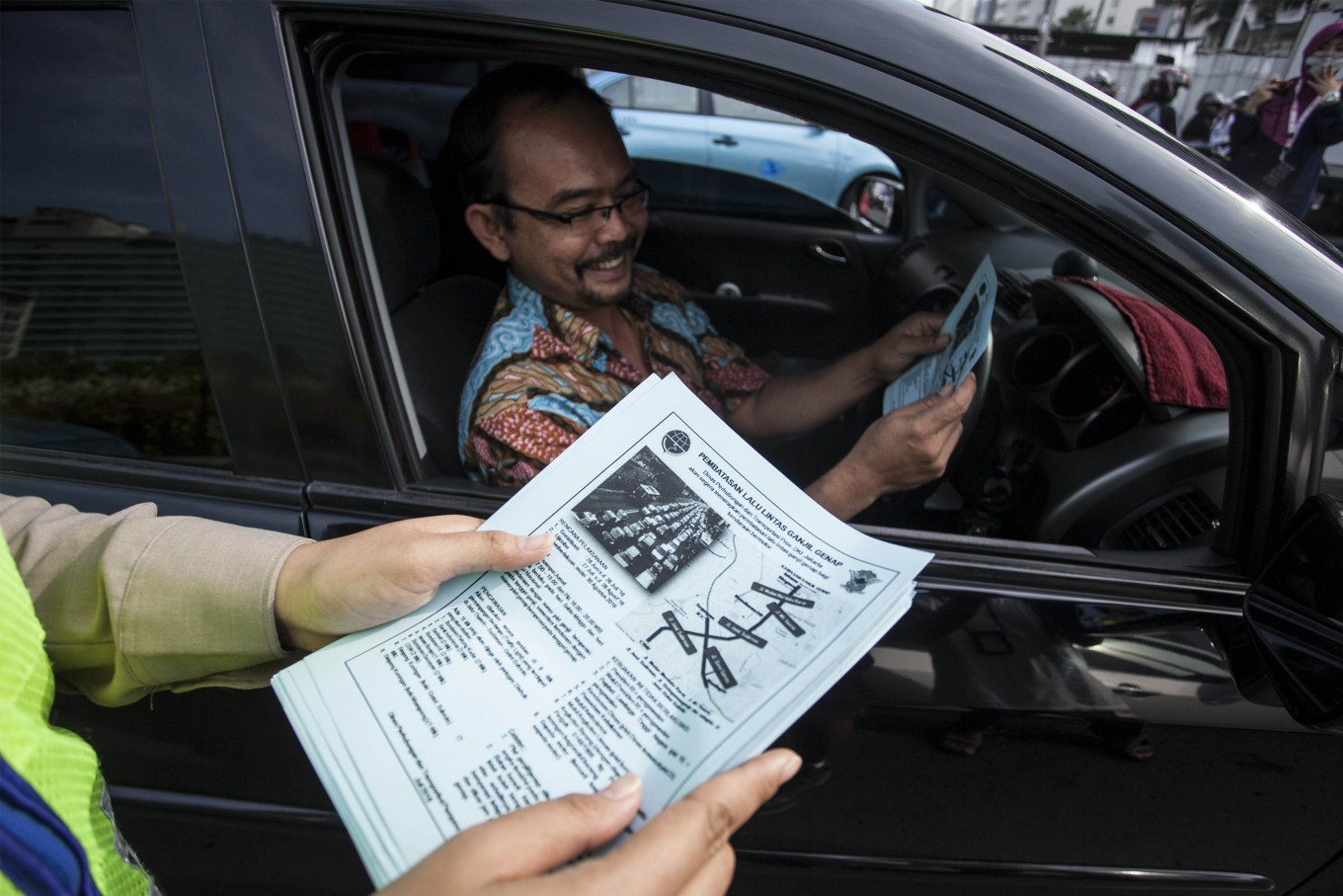 Jakarta to extend odd-even policy on major thoroughfares