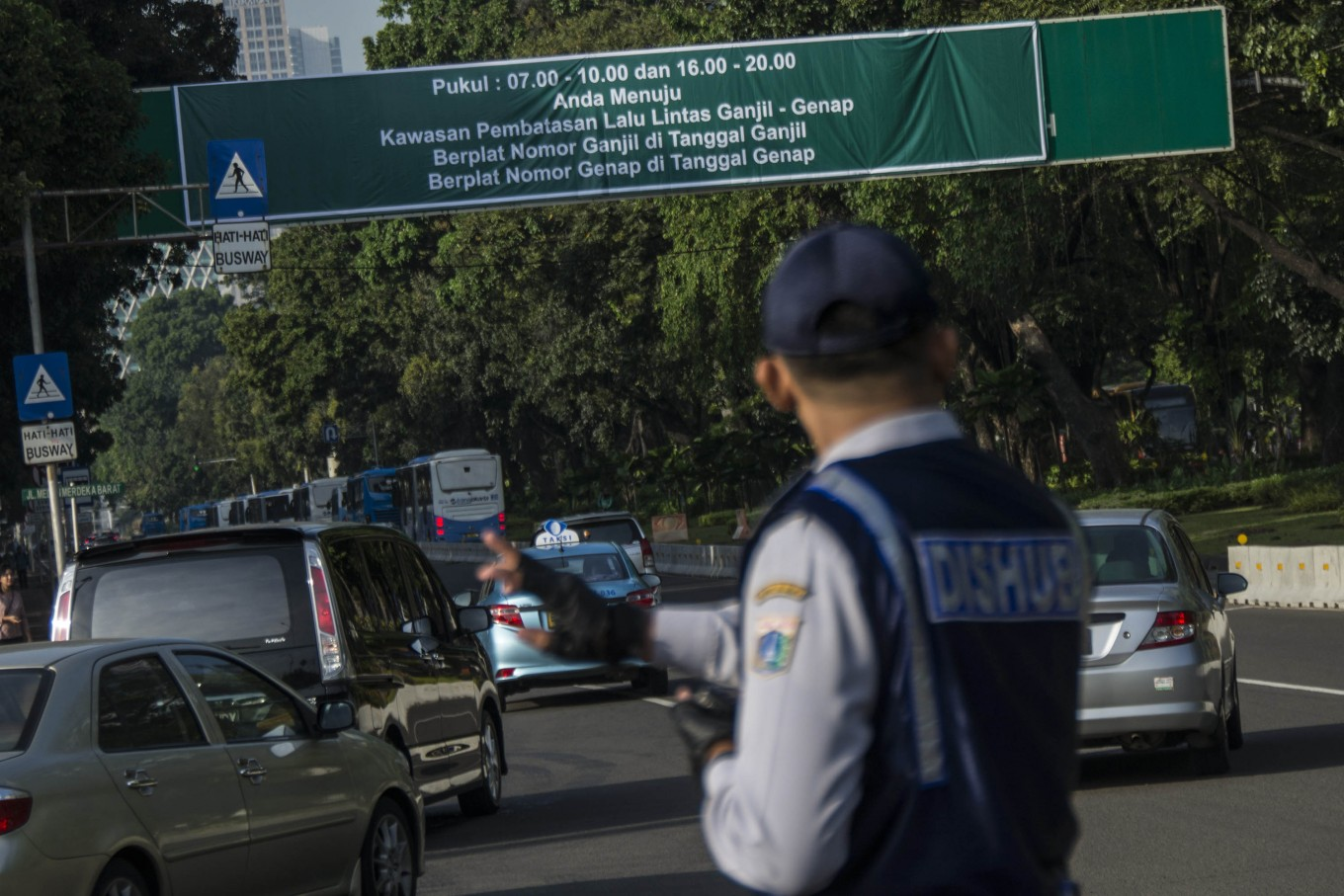 Fewer traffic accidents in Jakarta, thanks to odd-even policy: Police
