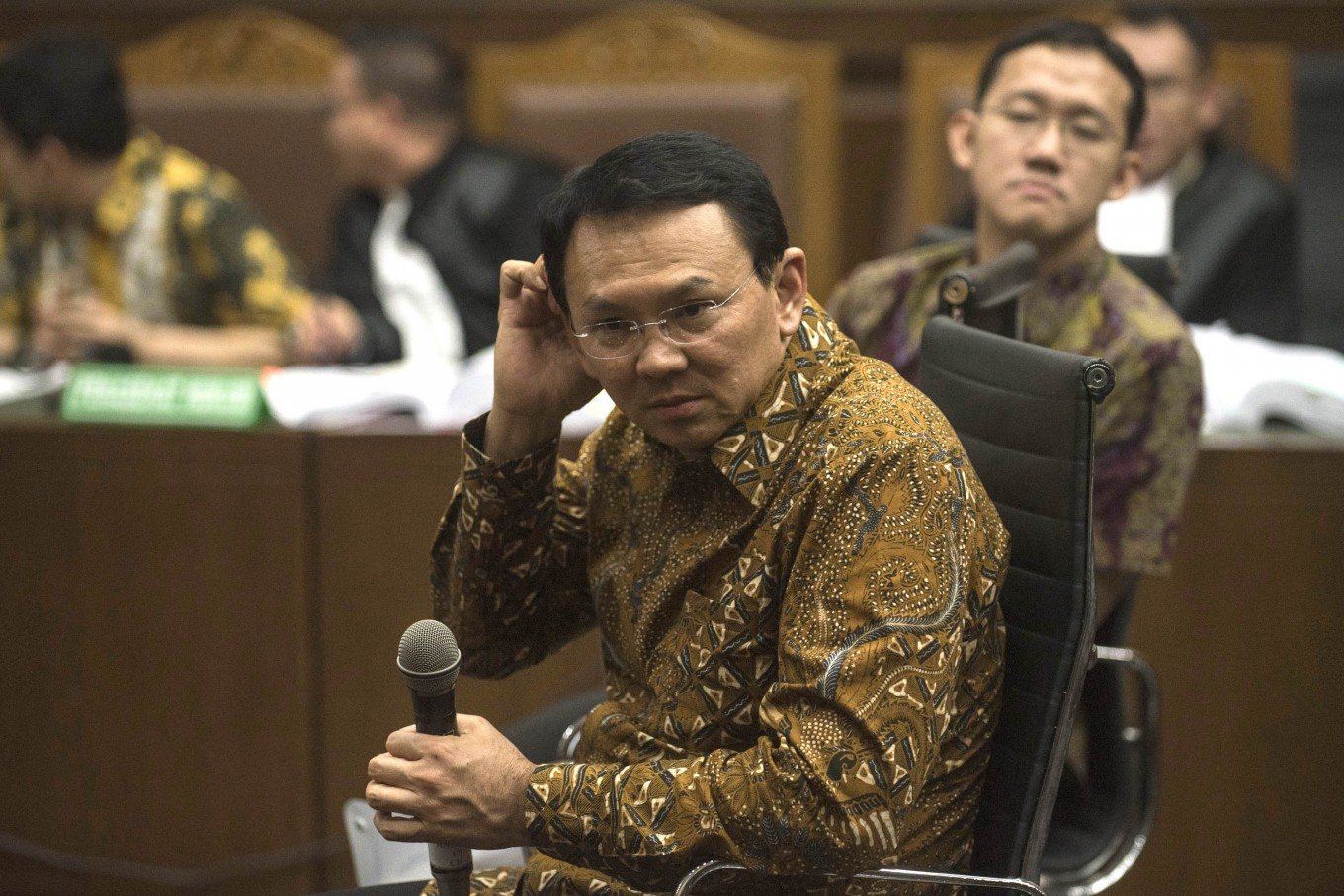 Ahok testifies against city councilor on reclamation graft