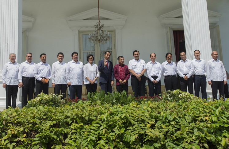 Jokowi's new Cabinet: Who's the boss now?