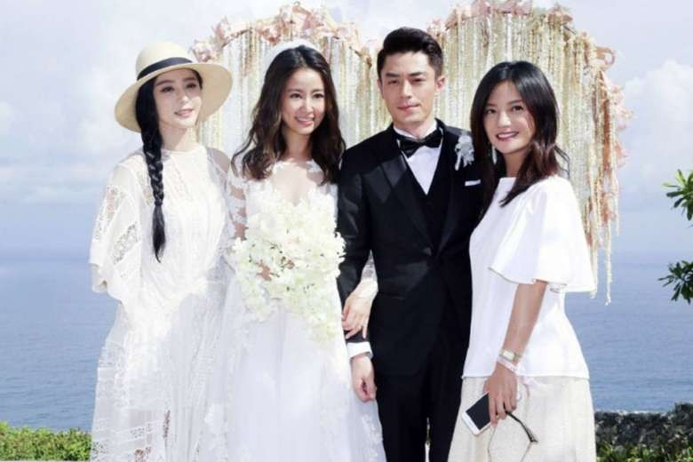 Taiwanese stars Ruby Lin and Wallace Huo wed in Bali