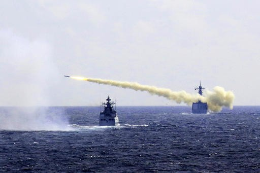China holds live-fire navy drills in East China Sea