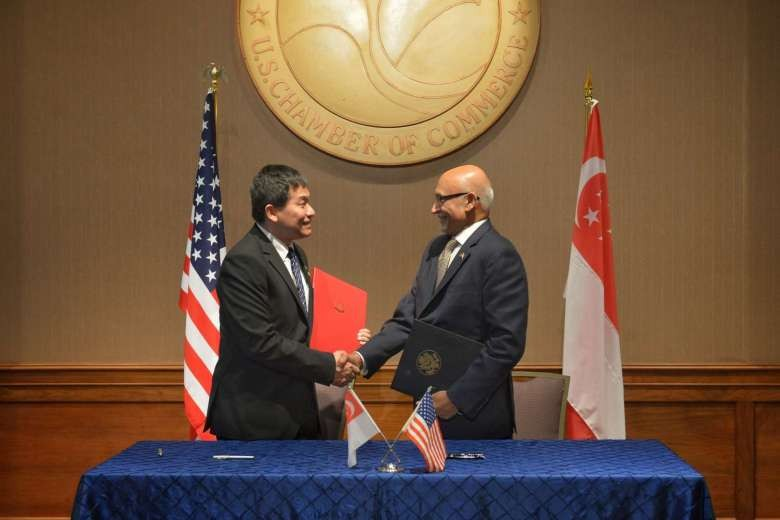 Singapore-US deal to help companies work together in third-party markets