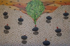 Ubud painter Nyoman Sujana Kenyem to showcase works in hometown
