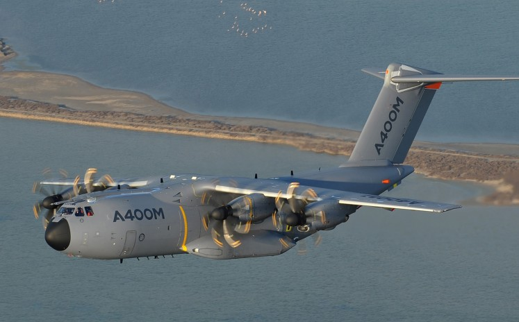 Airbus pushes A400M and Eurofighters in Indonesia