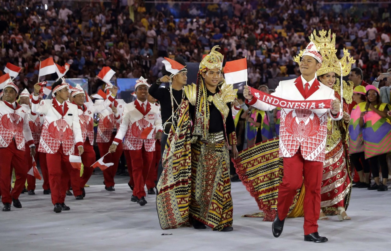 Indonesia's Olympic costume draws global attention despite criticism