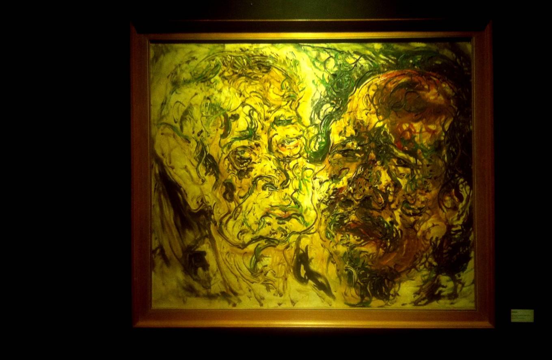 Exhibition explores maestro Affandi's style of expression