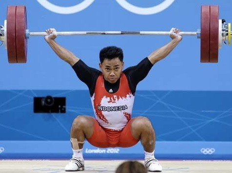 Indonesia scores second Olympic silver in weightlifting