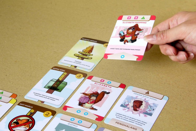 As cool as e-sports? Tabletop games gain popularity in Jakarta