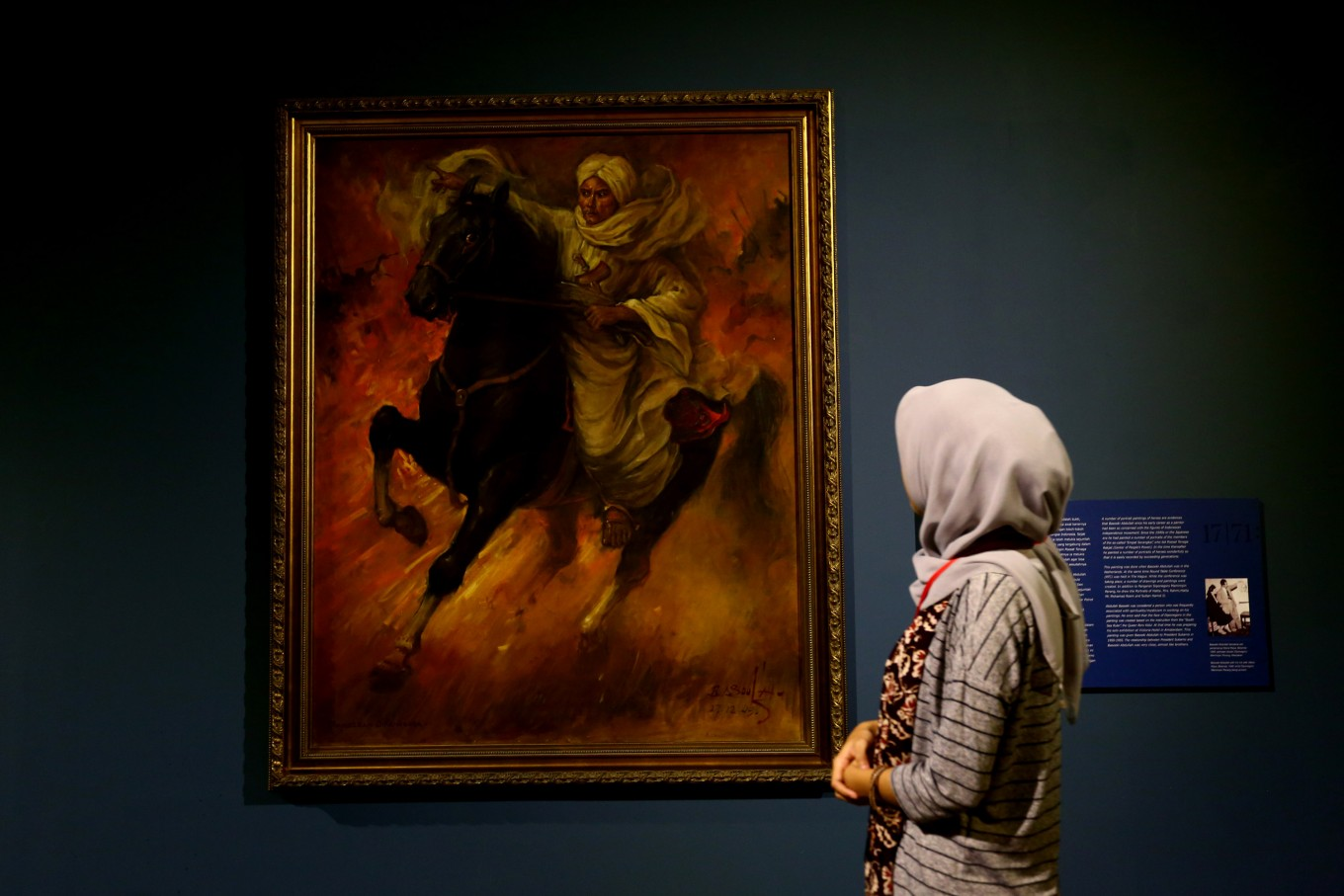 Presidential art collections on display throughout August