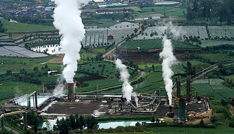 Environmentally friendly -- The Dieng geothermal power plant (pictured) in Central Java is one of the main sources of renewable energy in Indonesia.
