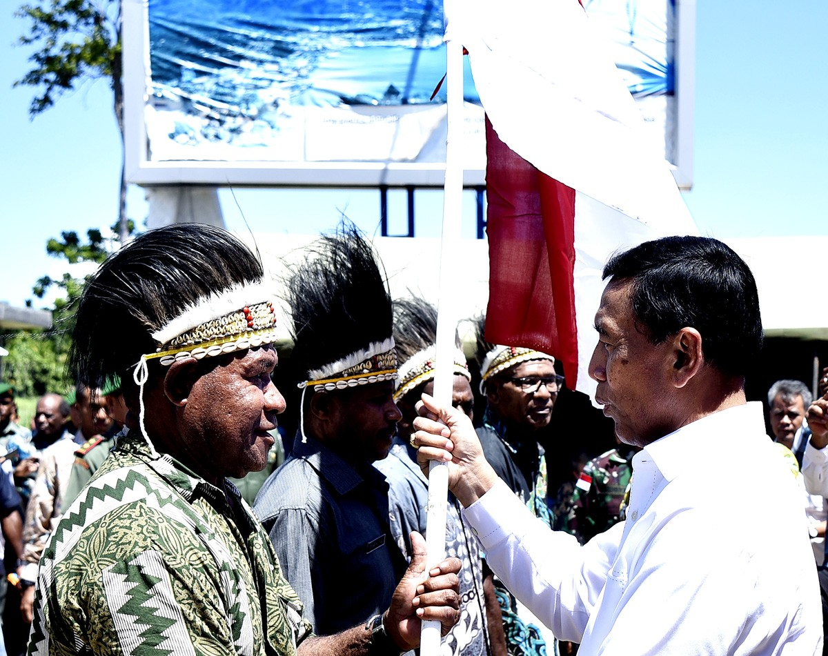 Indonesia shows off peaceful Papua