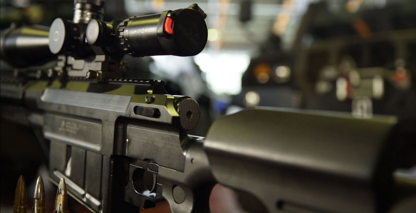 The Pindad SS1-V1: Indonesian Military Assault rifle