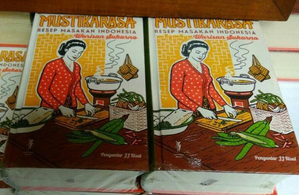 Sukarno's 'Mustika Rasa' recipe book re-printed
