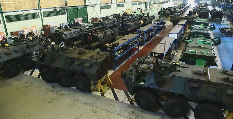 Pindad armored vehicles