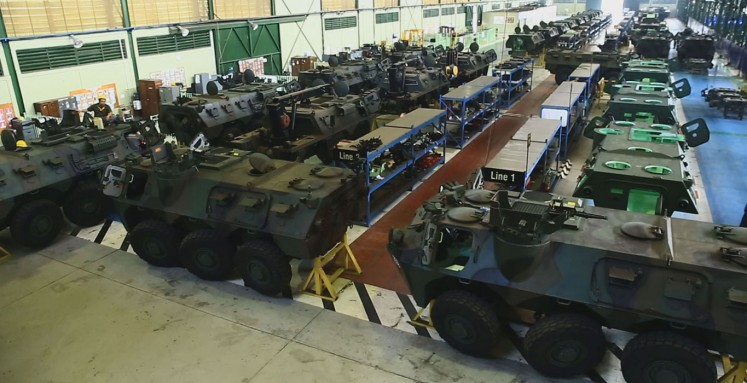 Pindad armored vehicles