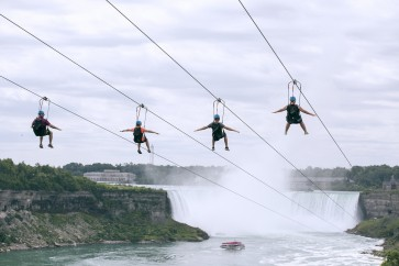 Whee! Niagara Falls latest natural wonder to add zip line
