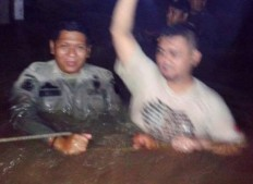 Dozens of people rescued after mudslide, flood hit Pondok Labu in Jakarta