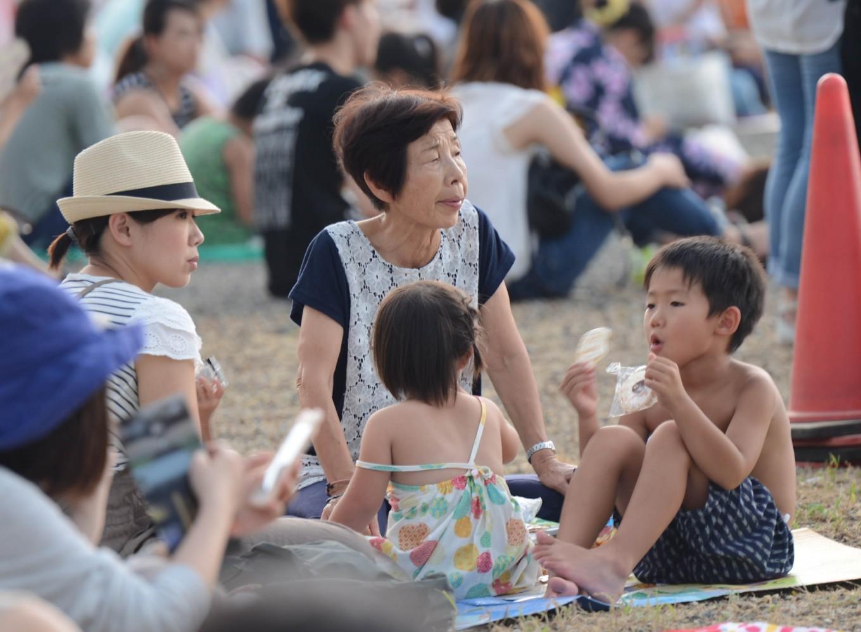 Hanabi Takai, fireworks of hope and gratitude
