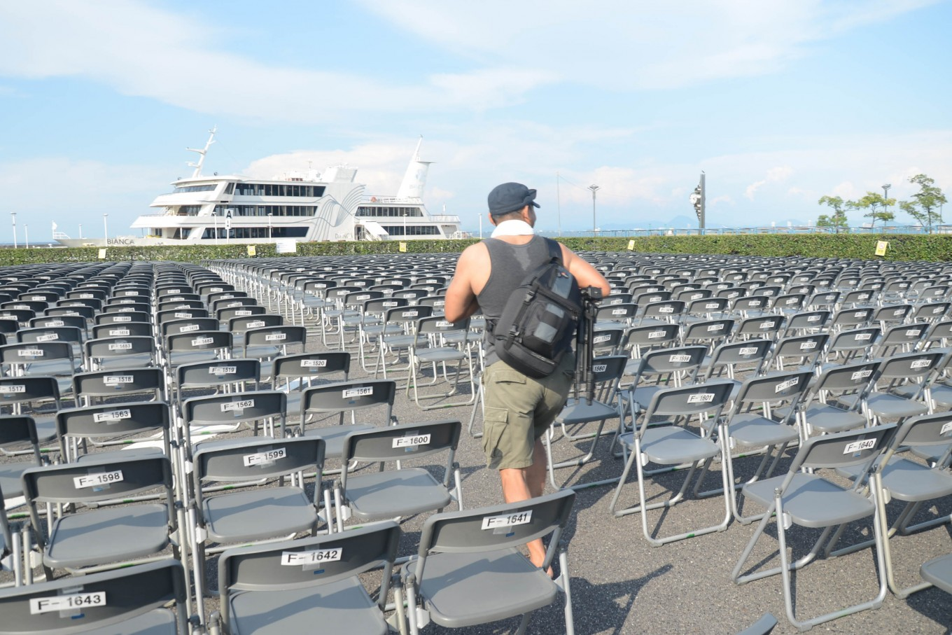 Thousands of tickets entitling visitors to a seat typically sell out before the festivals begin. JP/Tarko Sudiarno